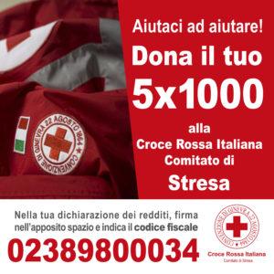 5 x 1000 alla Croce Rossa Comitato di Stresa