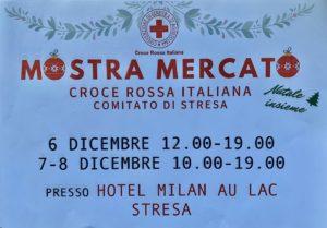 mostra mercato Croce rossa comitato di Stresa